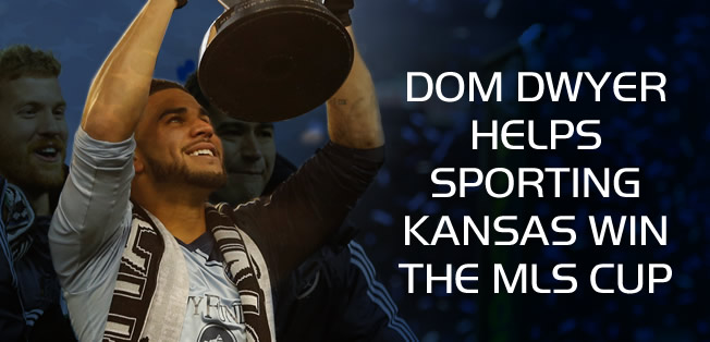 Dom Dwyer lifts cup